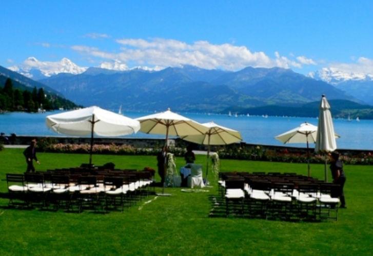 Beispiel: Ihre Hochzeit im Schloss, Foto: Schloss Schadau Thun.