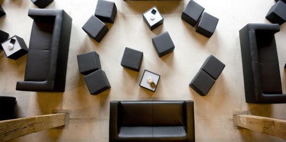 Beispiel: Lounge, Foto: Fürstenfelder.