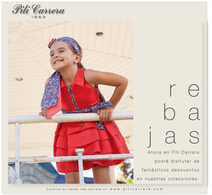 Pili Carrera es una tienda de ropa para niños en el DF.