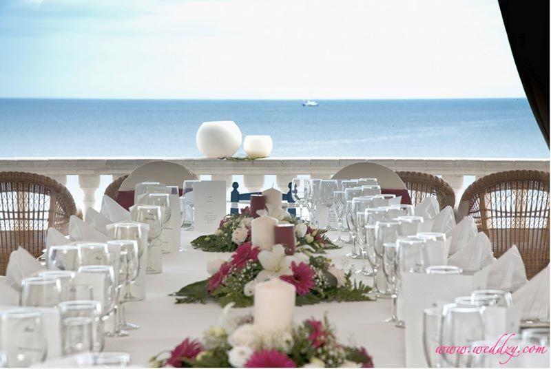 Mariage vue sur la mer