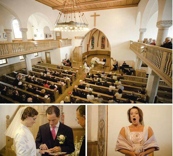 Beispiel: Fotos von der Trauung, Foto: David Dolder Fotografie.