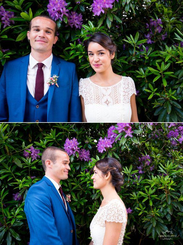Sweet Félicité Photographie Le marié et la mariée/Bride and groom/ Bretagne