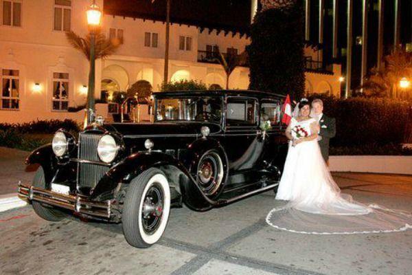 Alquiler para bodas  Packard  modelo limousine   año 1930