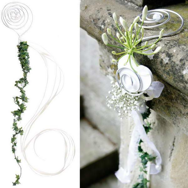 Beispiel: Blumendeko, Foto: Baumann Floristik und Dekoration.