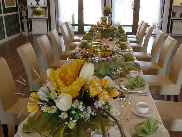 Zastawa stołu weselnego