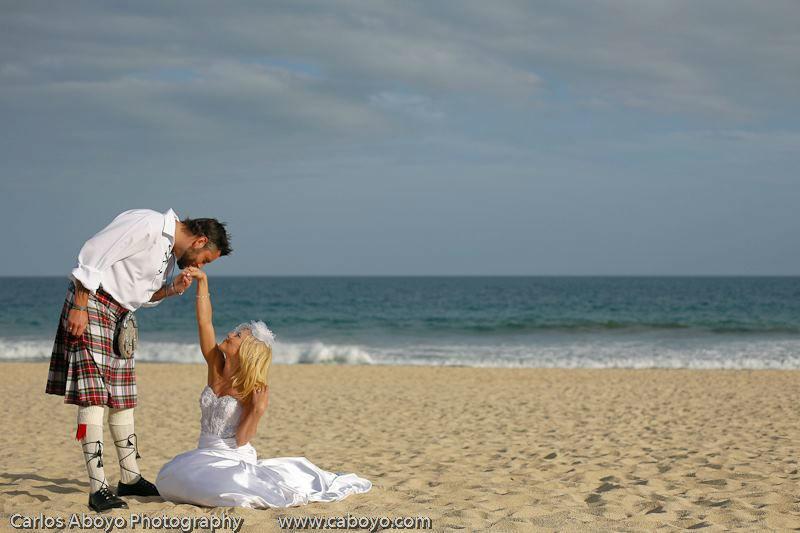 Fotografía profesional de bodas en Baja California Sur - Foto Carlos Aboyo