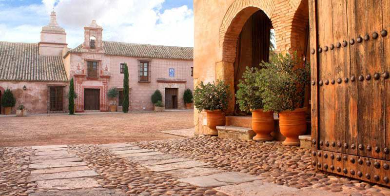 Detalle patio Hacienda Molinillos