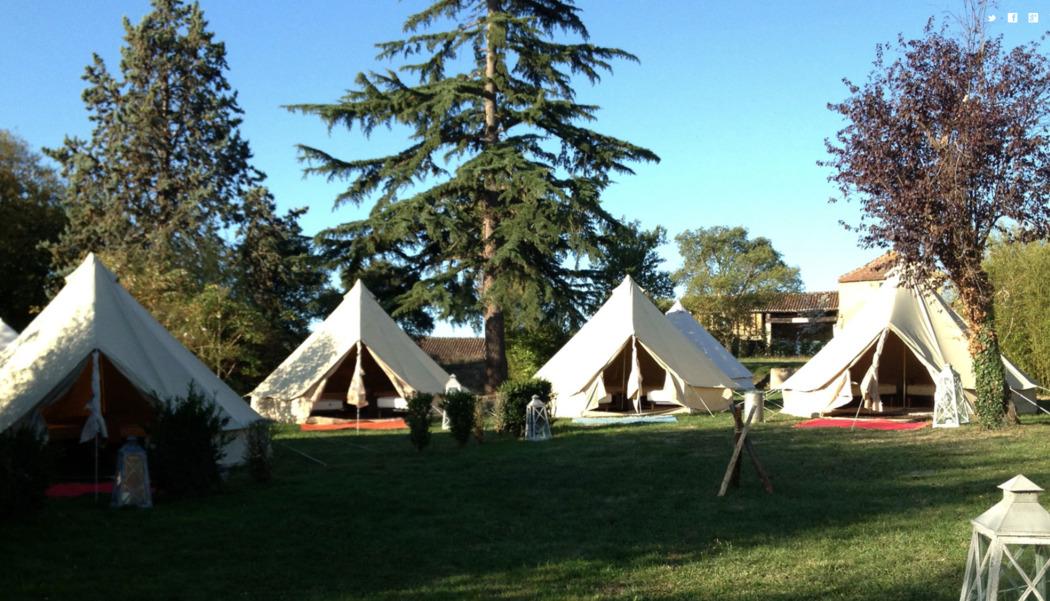Nos bivouac de 10 tentes  pouvant recevoir 20 convives