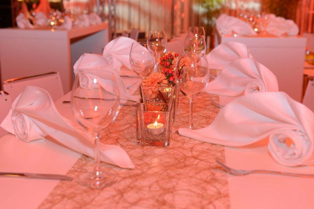Beispiel: Tischdekoration, Foto: Golden Amber.