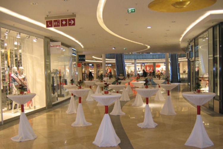 Beispiel: Planung des Sektempfanges, Foto: Agentur Deko Style Hochzeitsplanung.