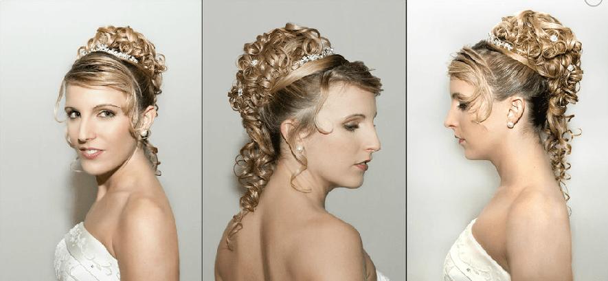 Beispiel: Professionelle Hochzeitsfrisuren, Foto: Beauty Art Team.