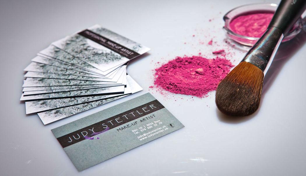 Beispiel: Professionelles Make-up, Foto: Judy Stettler Make-up Artist.
