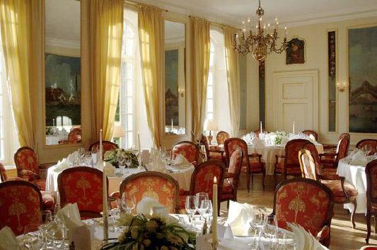 Beispiel: Venezianisches Zimmer, Foto: Schloss Münchhausen.