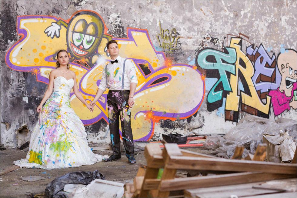Beispiel: Trash the dress, Foto: Nina Hintringer Photography.