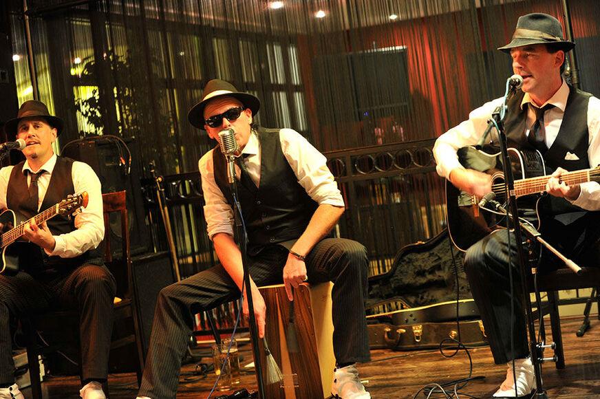 Beispiel: Auftritt, Foto: Los Sopranos.