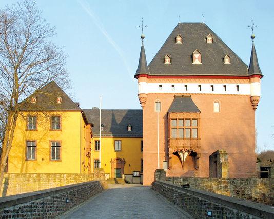 Beispiel: Vorderansicht, Foto: Schloss Burgau.