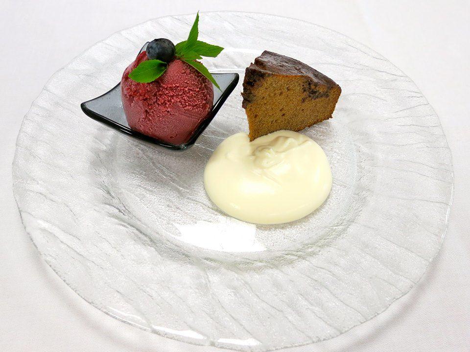 Beispiel: Dessert, Foto: Hotel Restaurant Vogelsang.