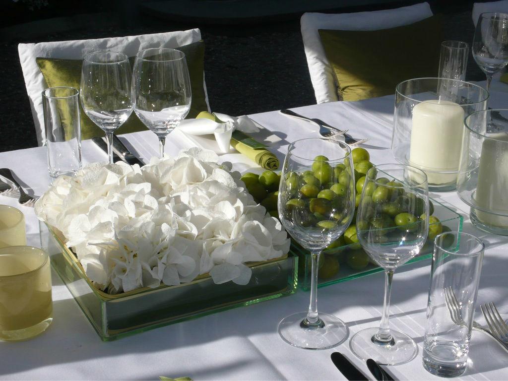 Beispiel: Catering und Dekoration, Foto: Gammacatering.