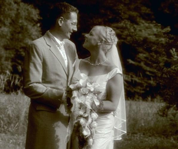 Beispiel: Glücklich ins Eheleben, Foto: Sabine Zimmermann.