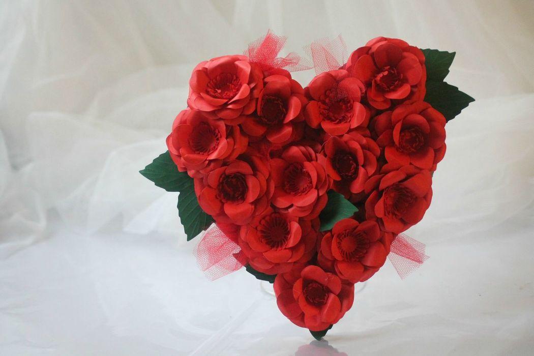 LaCasadiTania: Cuore con fiori