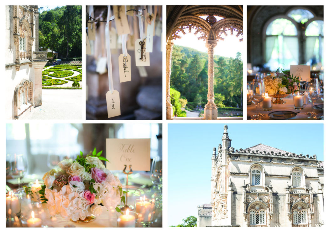 Rock n' Roll Wedding in a Gothic Palace by The Wedding Company