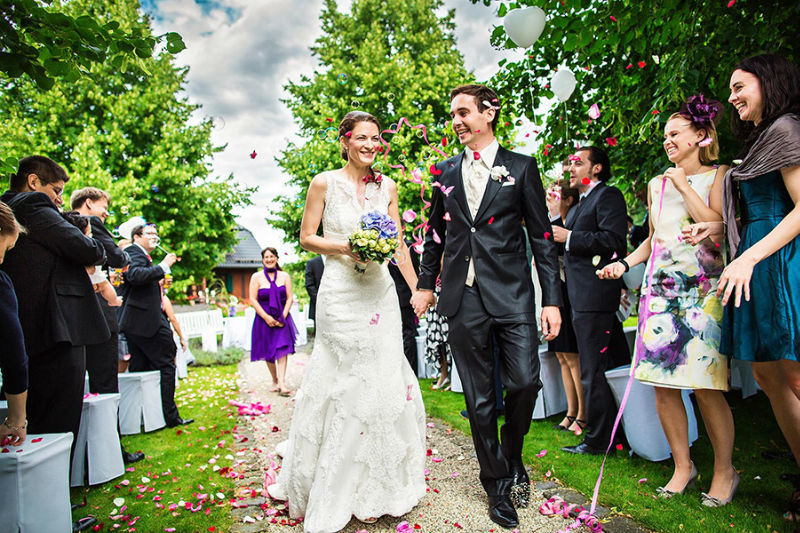 Beispiel: Fotos Ihrer Hochzeit vom Profi, Foto: Kajul Photography.