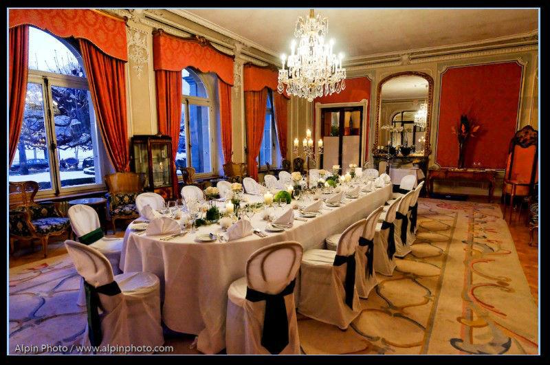 Beispiel: Hochzeitstafel, Foto: Switzerland Wedding Company.