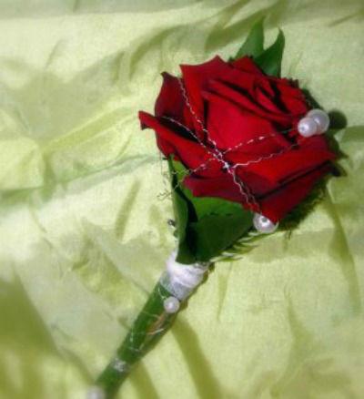 Beispiel: Blumenschmuck, Foto: La Fleur.