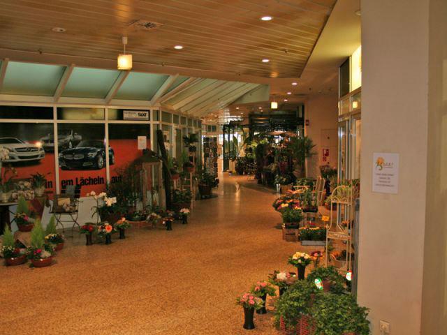 Beispiel: Ladengeschäft, Foto: Georgs Blumen.