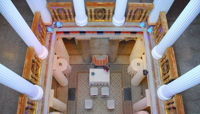 Beispiel: Innenbereich, Foto: Villa Toscana.