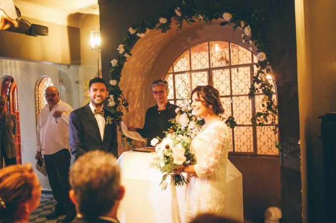 Ceremonia en restaurante