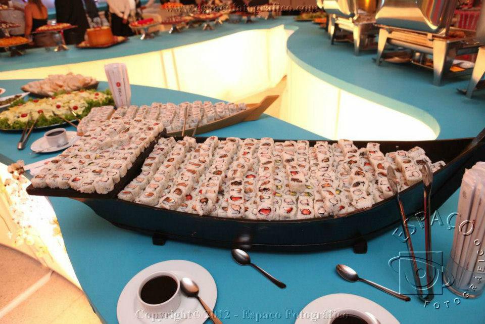 Buffet Requinte. Foto: Espaço Fotografia