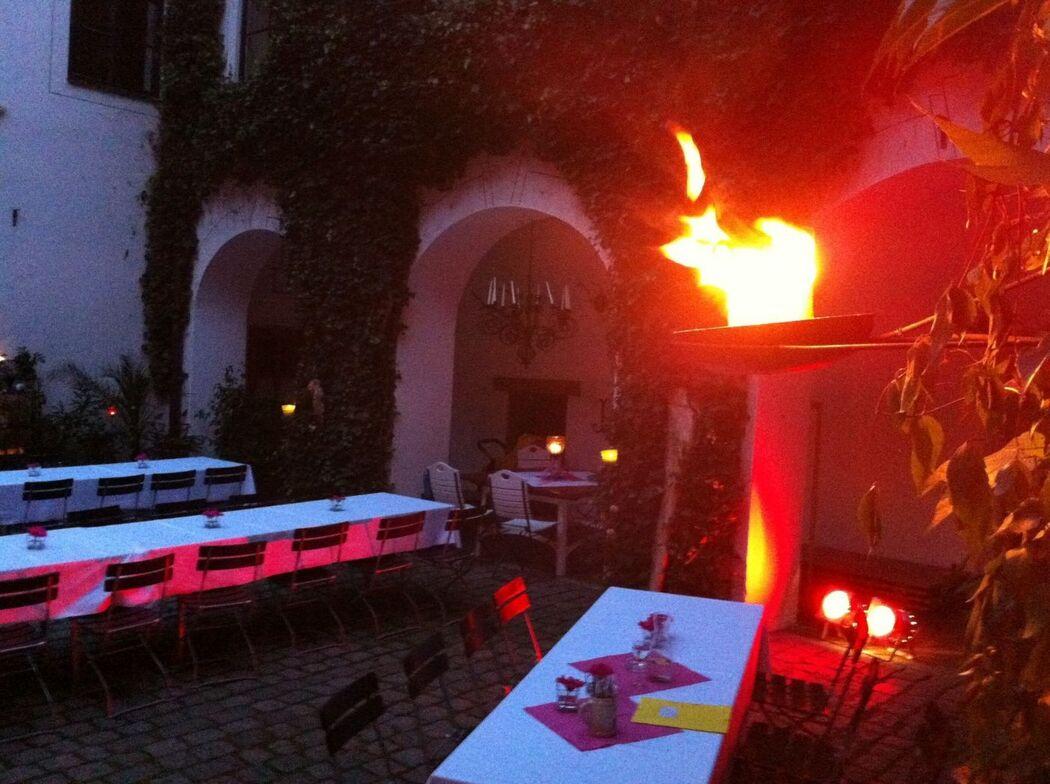 Beispiel: Innenbeleuchtung, Foto: Profi-Hochzeitsdj.de.