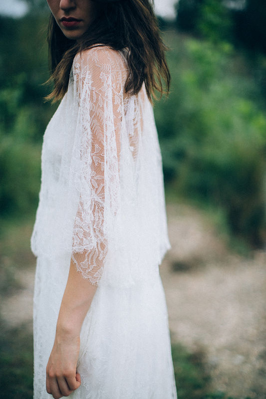 poncho Gounod - robe Greco | Aurélia Hoang