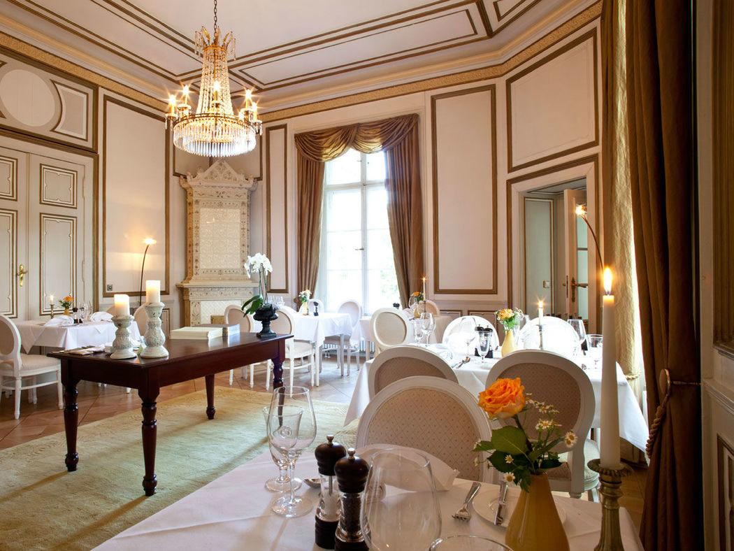 Beispiel: Restaurant, Foto: Schloss-Hotel Kittendorf.