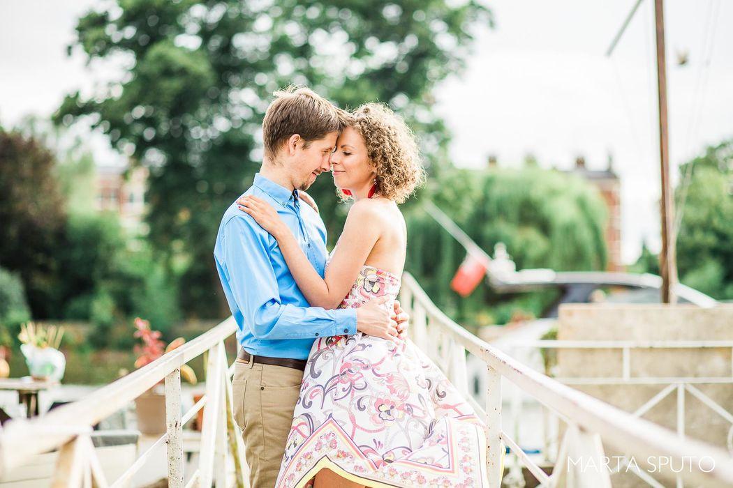 Ewa & Andrzej | Sesja narzeczeńska w Richmond, UK