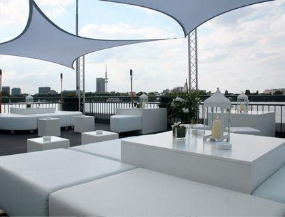Beispiel: Loungemöbel, Foto: Alsterlounge.