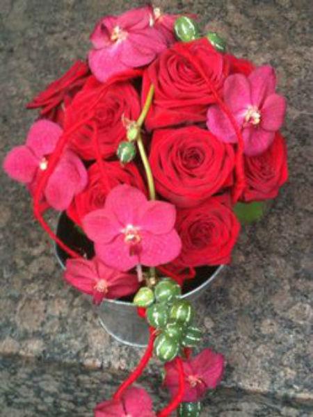 Beispiel: Brautstrau, Foto: Flower & More.