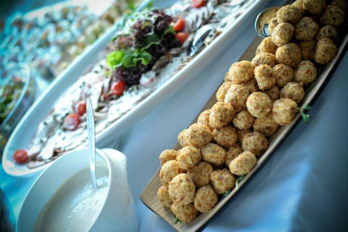 Beispiel: Exquisite Speisen für Ihre Hochzeitsfeier, Foto: Magellan.