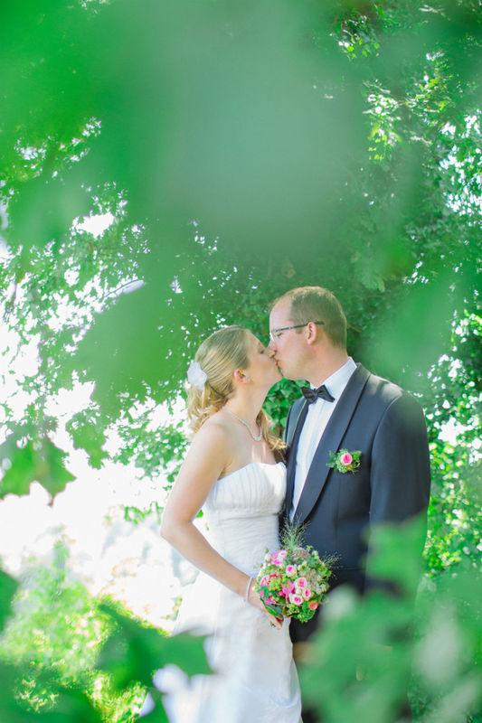 Beispiel: Romantische Hochzeitsfotos, Foto: Jeanine Linder Photography.