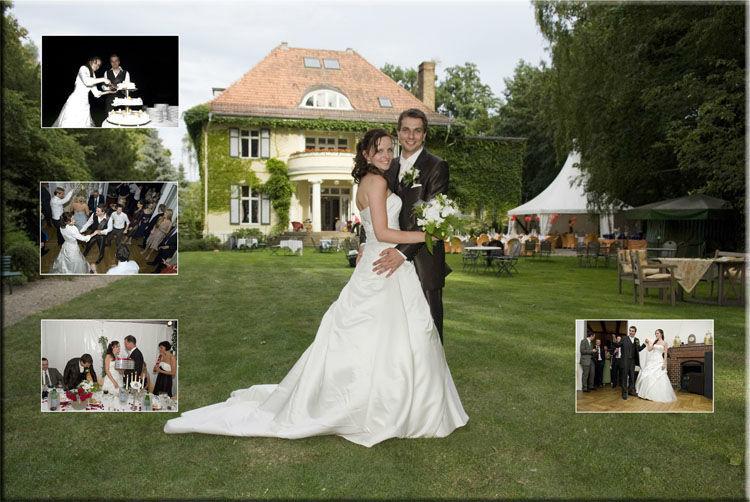 Beispiel: Fotografische Begleitung durch Ihren Tag, Foto: Hochzeitsfotografie Berlin.