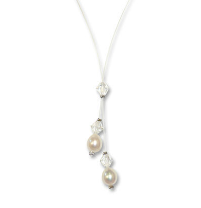 Halskette Mandy Perle von Crystal Art