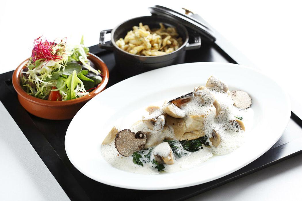 Beispiel: Kulinarische Köstlichkeiten, Foto: Breidenbacher Hof.