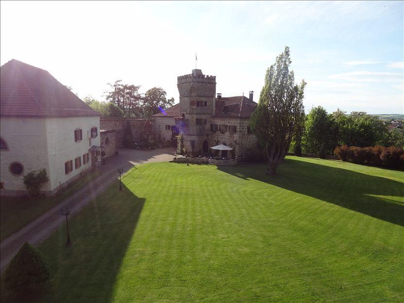 Beispiel: Garten, Foto: Schloss Geyersberg.