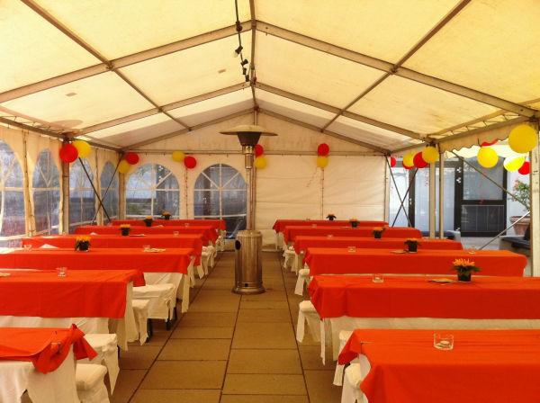 Beispiel: Festzelt, Foto: Hotel Restaurant Igel.