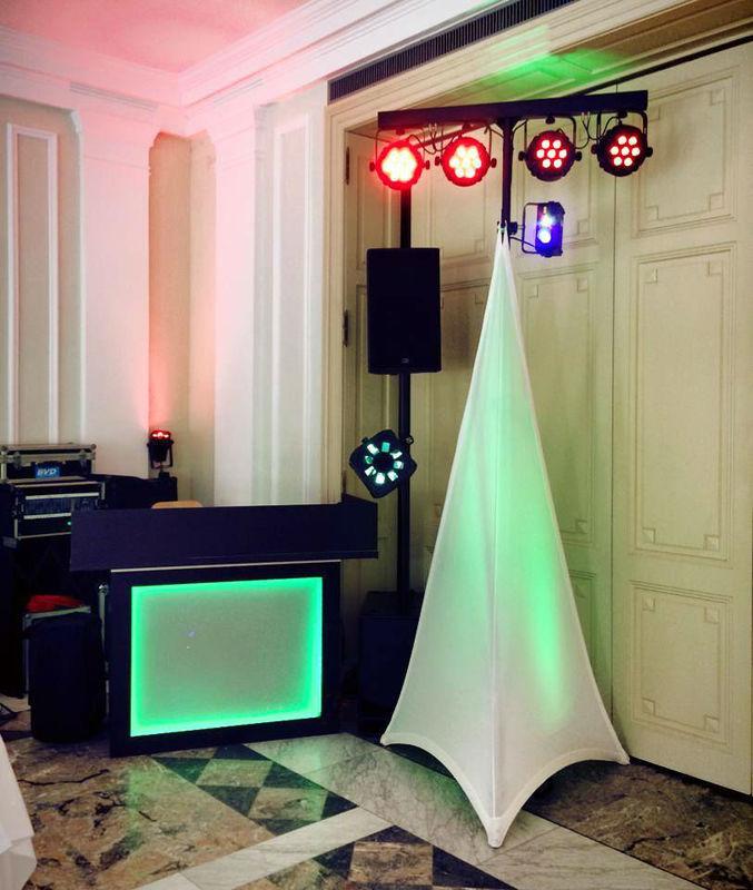 Beispiel: Ton- und Lichttechnik / Location, Foto: DJ Nycco.