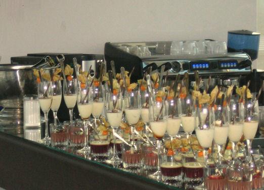 Beispiel: Verrinen, Foto: MS-Catering.