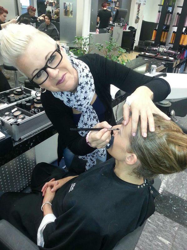 Beispiel: Ihre Judy Stettler, Foto: Judy Stettler Make-up Artist.