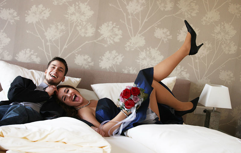 Beispiel: Brautpaar, Foto: Restaurant Meersalz.