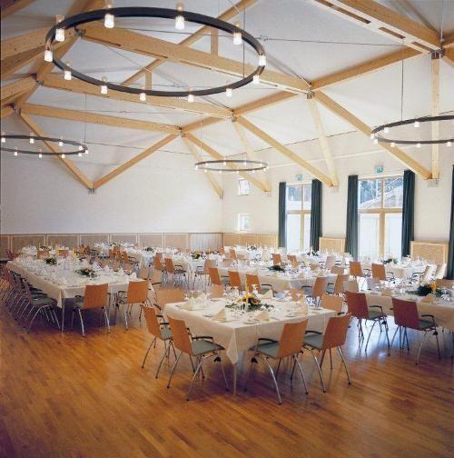 Beispiel: Festsaal, Foto: Klostergasthof Roggenburg.